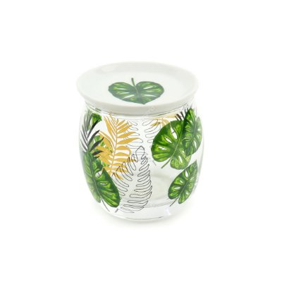 Copo de Vidro Botânica com Tampa