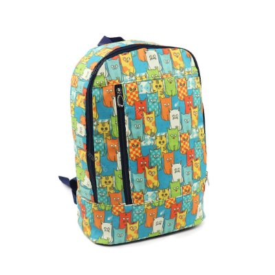 Mochila de Nylon Vertical Daily Cats Gang