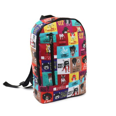 Mochila de Nylon Vertical Daily Monsters of Dog
