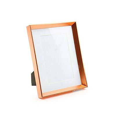 Porta Retrato em Metal Cobre 10x15