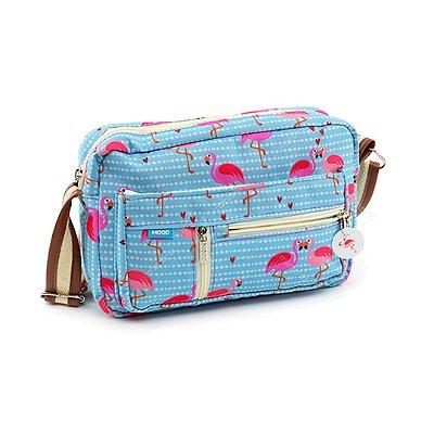 Bolsa Tiracolo Grande Flamingo