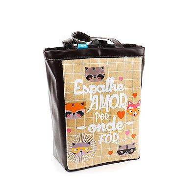 Bolsa Sacola Pequena Guaxinim Craft