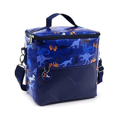 Bolsa Térmica Dino Azul