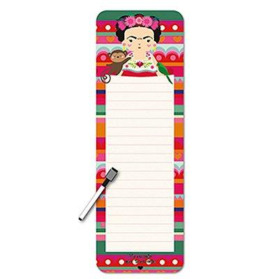 Planner Diário Frida Colores Imã com Caneta