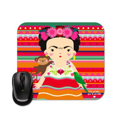 Mouse Pad Frida Colores