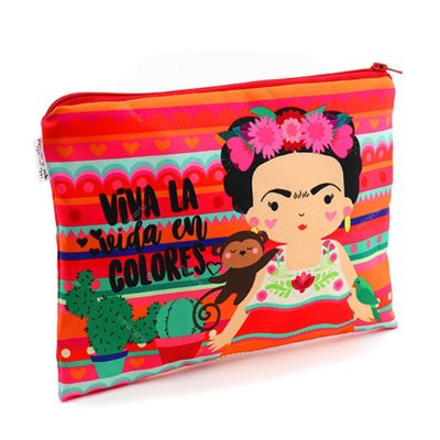 Necessaire Frida Colores Grande