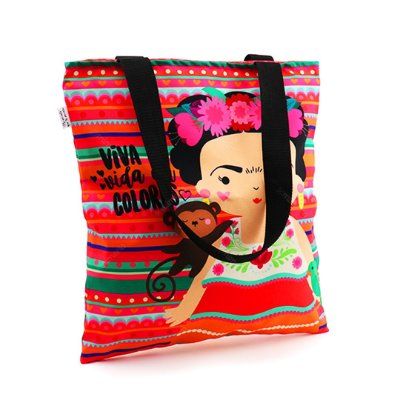 Bolsa Sacola Frida Colores