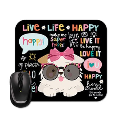 Mouse Pad Happy Cachorro