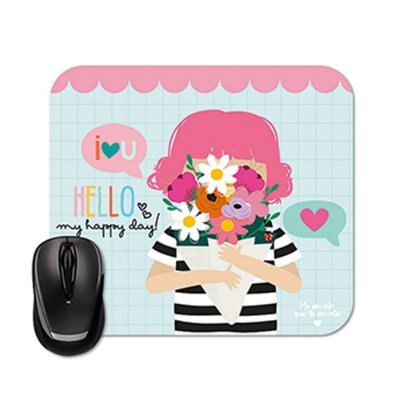 Mouse Pad Happy Bouquê
