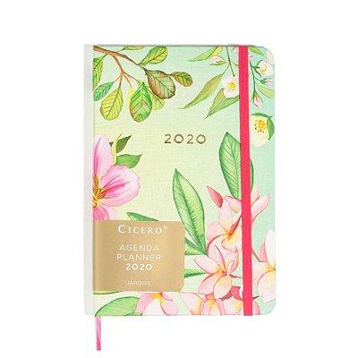 Agenda Planner Semanal 2020 Anotações Jardim Jasmim Cíceros