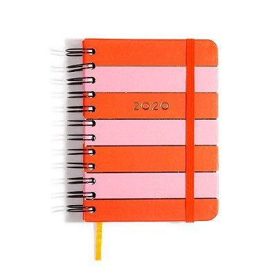 Agenda Planner Diária 2020 Todas Juntas Color Block Wire-O