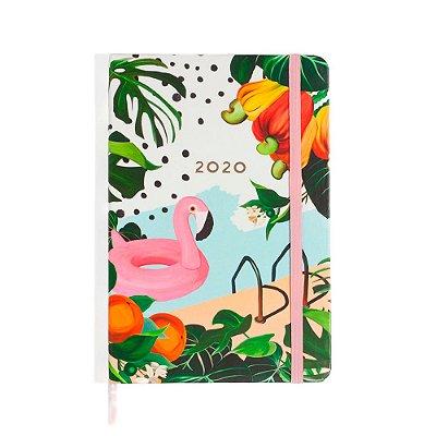 Agenda Planner Semanal 2020 Pontada Verão Flamingos Cíceros