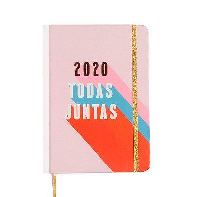 Agenda Planner Semanal 2020 Pontada Todas Juntas Cíceros