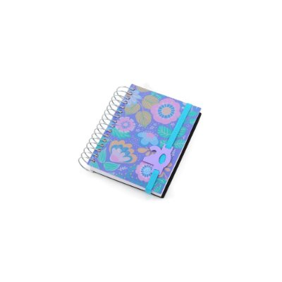 Agenda 2020 Mini Diária Flores Lilás