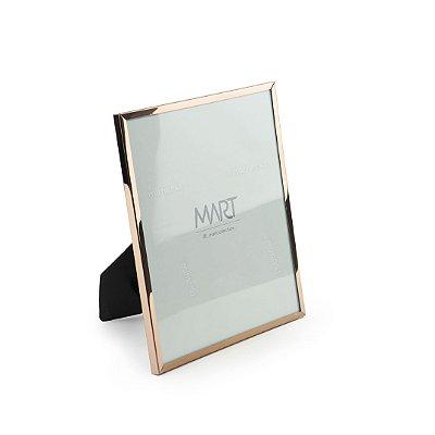 Porta Retrato em Metal Rose Gold 10x15