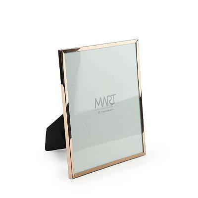 Porta Retrato em Metal Rose Gold 15x20