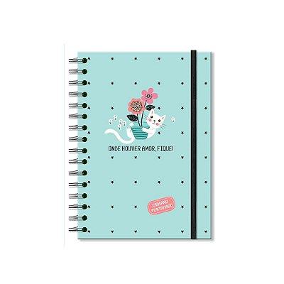 Caderno Pontilhado Gatos