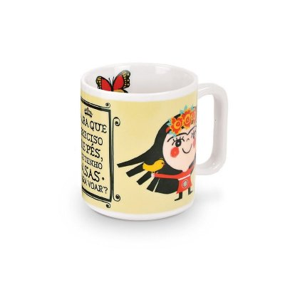Caneca Decorada Frida