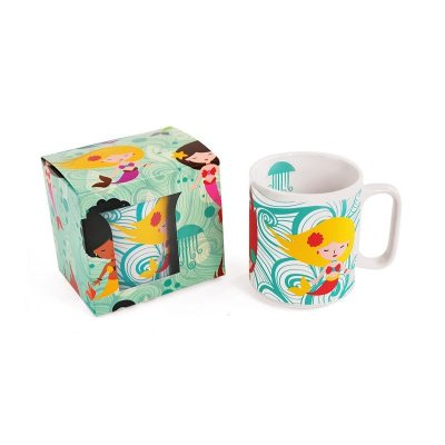 Caneca Decorada Sereias