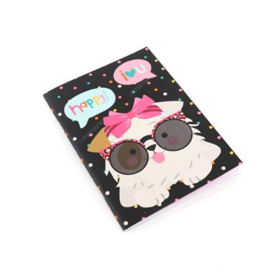 Caderno Pontado Happy Cachorro