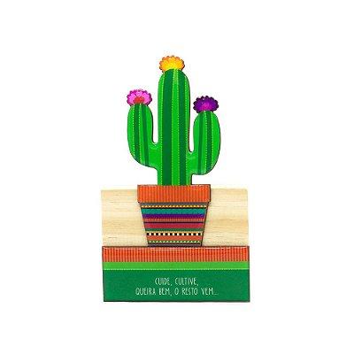 Escultura Cacto Mexicano Pequena
