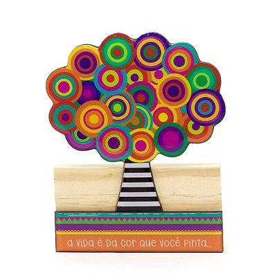 Escultura Árvore Bola Grande