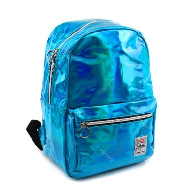 Mochila Brilhante Azul