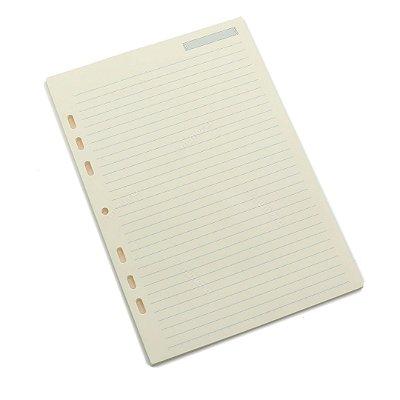 Refil Caderno Ultra Pautado Folhas Amarelas