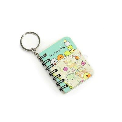 Mini Notebook Kawaii Verde