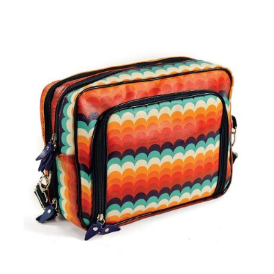 Bolsa Transversal Estampada Make Love