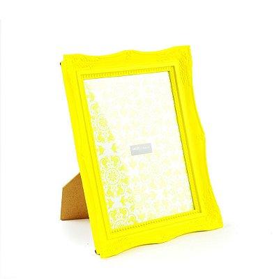 Porta Retrato Vintage Amarelo 15x20