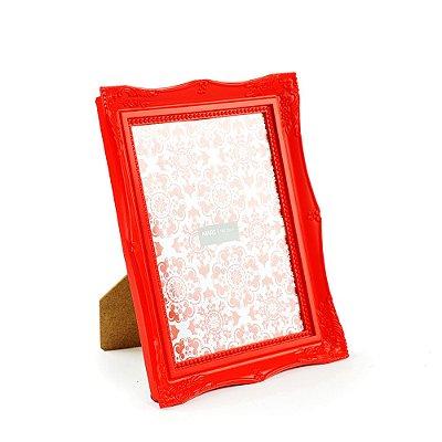 Porta Retrato Vintage Vermelho 15x20