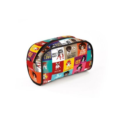 Necessaire de Viagem Estampada Monsters of Dog