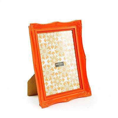 Porta Retrato Vintage Laranja 15x20