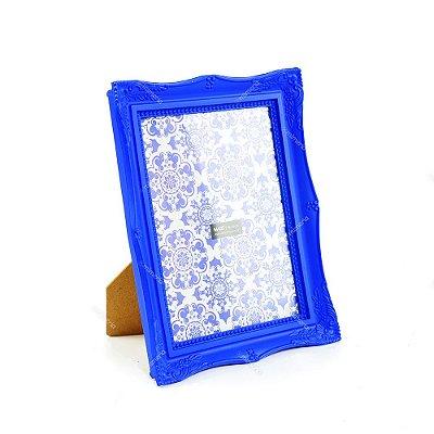 Porta Retrato Vintage Azul Royal 15x20