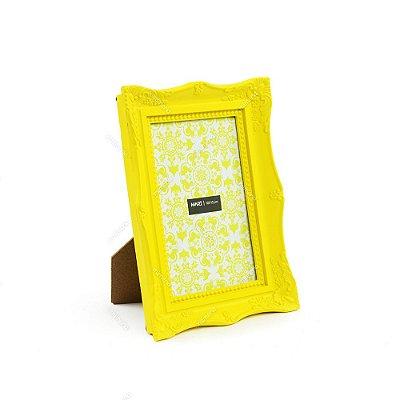 Porta Retrato Vintage Amarelo 10x15