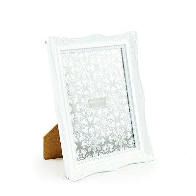 Porta Retrato Vintage Branco 15x20