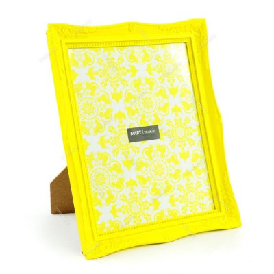 Porta Retrato Vintage Amarelo 20x25
