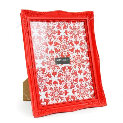Porta Retrato Vintage Vermelho 20x25