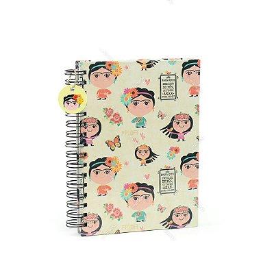 Caderno de Anotações Frida