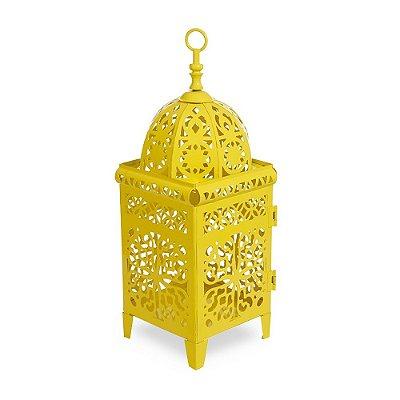 Lanterna Marroquina Amarela