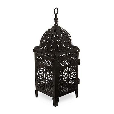 Lanterna Marroquina Preta