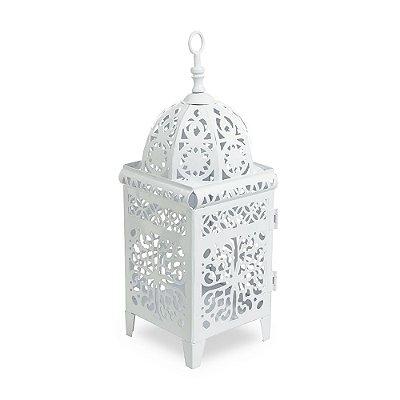 Lanterna Marroquina Branca