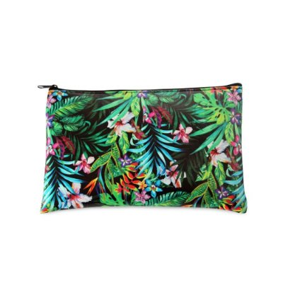 Necessaire Estampada Média Tropical