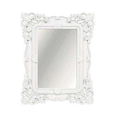 Espelho Decorativo Rococó Branco 20x25