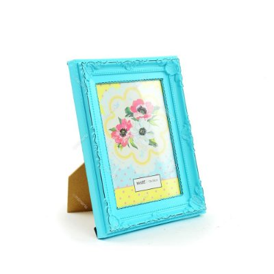 Porta Retrato Vintage Candy Azul 13x18