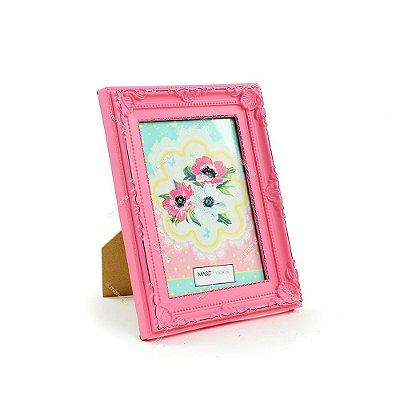 Porta Retrato Vintage Candy Rosa 13x18