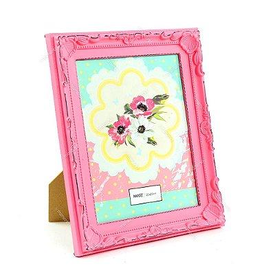 Porta Retrato Vintage Candy Rosa 20x25