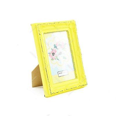 Porta Retrato Vintage Candy Amarelo 10x15