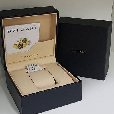 Caixa Estojo Para Relógio Bvlgari